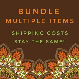 Bundle items up to 5 lbs. Shipping stays the same!